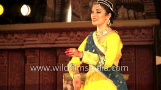 Kathak solo by Shinjini Kulkarni: Khajuraho Dance Festival