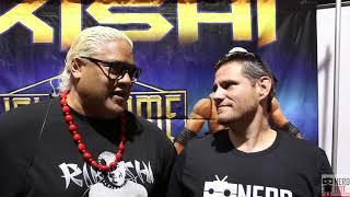 Nerdbot Exclusive Interview: Rikishi at Long Beach Comic Con
