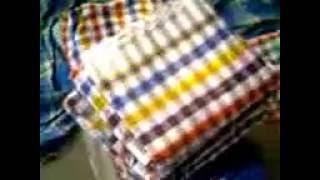 Bengali Indian Towel called GAMCHA