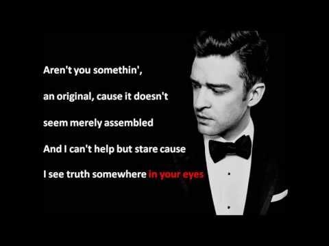Mirrors Justin Timberlake Lyrics On Screen