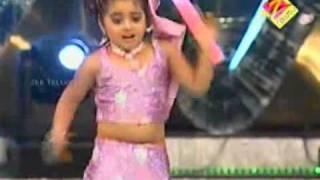 Geethika Dance for Manasuna Unnadhi - AATA Juniors