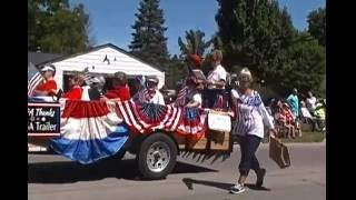 Grayling MI 2016 4th of July Parade