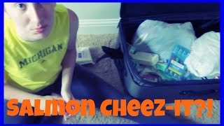 Salmon Cheez-it?! | Teen Vlogger