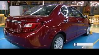 Iran IKCO launches Turbo Dena plus & Pegeot 207i automatic sedan دنا توربو پلاس و پژو سدان اتوماتيك