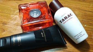 After Shaves: Tabac Original/Denim Fire/CR Legacy Balm