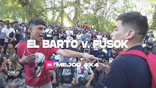 EL BARTO vs. FUSOK: Mejor 4x4 - DEM Duplas Random 2019