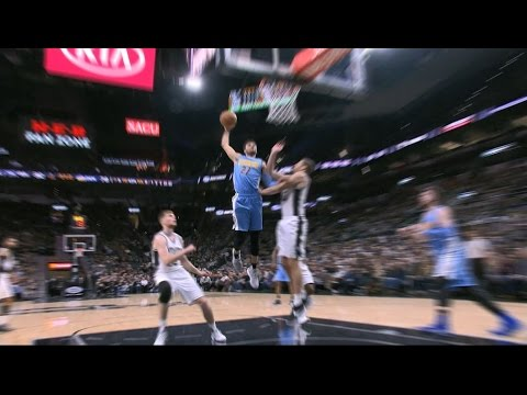 Jamal Murray Crosses Over and Throws It Down on Spurs | 01.19.17