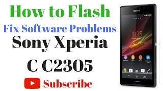 Sony Xperia C C2305 Flash done with flash tool by GsmHelpFul