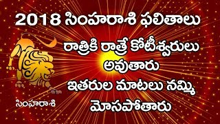 2018 Horoscope for Leo | Rasi Phalalu | Simha Rasi | Science and Astrology | WMB Pictures