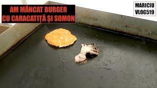 Am mâncat un burger cu CARACATIȚĂ