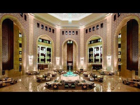 Al Bustan Palace a Ritz Carlton Hotel Oman full tour STUNNING lobby