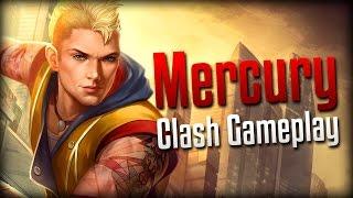 Smite: RAGE!- Modern Messenger Mercury Clash Gameplay