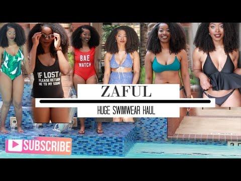 HUGE Zaful Bikini Swimwear Try on Haul