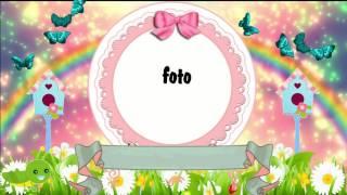 Convite Animado Jardim Encantado Amostra Buxrs Videos Watch