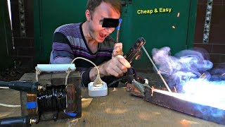Easy Welding machine DIY ! ⚡🔥 Cheap, Simple, Compact!