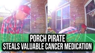 Nevada Porch Pirate steals $40k of Cancer Medication!