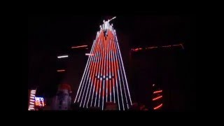Star Wars Imperial March - Amazing Christmas Light Display