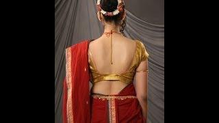 Nauvari Saree || Lavni Saree || Maharashtra Dance Saree