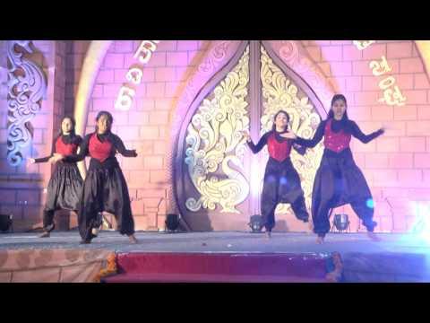 Kahale-2016, RVCE Students  Dance Performance