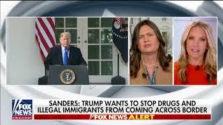 Sanders responds to critics of Trump