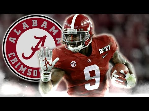 Bo Scarbrough Scariest Running Back in College Football Official 2016 17 Alabama Highlights