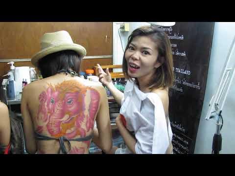 lady tattoo by TAO นางแบบออสเฟสจ่ะ