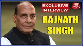 Exclusive Interview Of Rajnath Singh With Aaj Tak