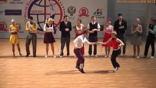 World Cup BOOGIE-WOOGIE Moscow 2012, Final Fast (Katrunov-Georgiievska)