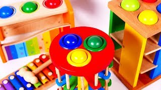 Learn Colors with Pounding Table Toys for Children