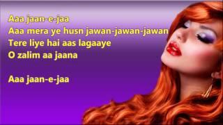 Aaa Jaan e jaan - Inteqam - Full Karaoke