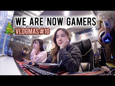 Gaming all night at a KOREAN INTERNET CAFE & Michelin Star Restaurant in SEOUL | Vlogmas #10