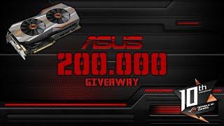 200.000 Abo Special | Asus Matrix GTX 980 TI Platinum Gewinnspiel