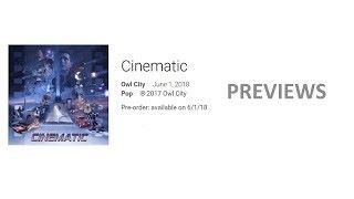Owl City - Cinematic (Previews)