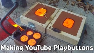 Making 'Gold' YouTube Playbutton