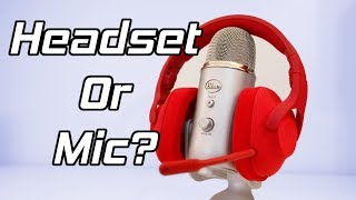 Gaming Headset Or Microphone - Do You Need A Condenser Mic?