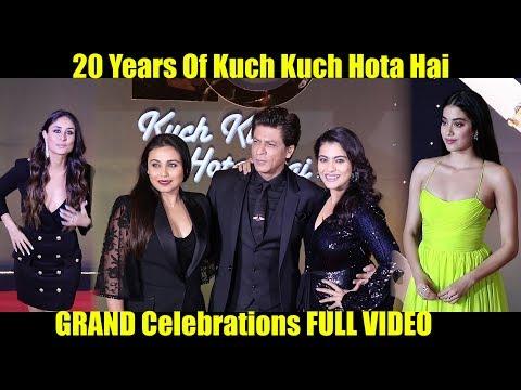 Xxx Mp4 20 Years Of Kuch Kuch Hota Hai GRAND Celebrations FULL VIDEO SRK Kajol Rani Kareena Jhanvi 3gp Sex