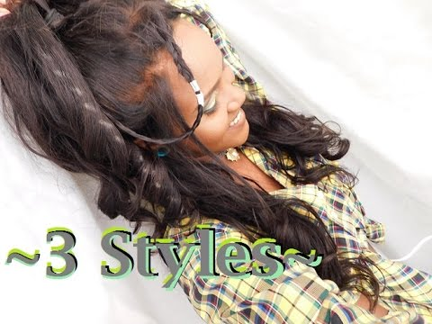 Xxx Mp4 3 WAYS TO STYLE THAT FRONTAL Feat UNICE Brazillian BODY WAVE 3gp Sex