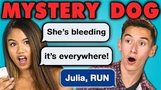 TEENS READ MYSTERY DOG!!! | Creepy Horror Texts (React)