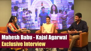 Mahesh Babu - Kajal Agarwal Exclusive Interview On Brahmotsavam - Gulte.com
