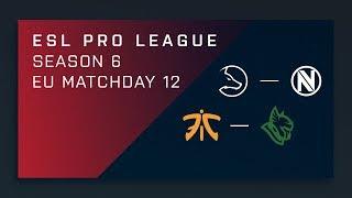 CSGO: fnatic vs. Heroic – Map 1 [Mirage] Day 12 ESL Pro League S6 – EU 2nd Stream