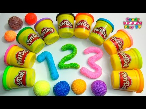 Xxx Mp4 Learn To Count With PLAY DOH Numbers 1 To 20 Squishy Glitter Foam Learn To Count For Children 3gp Sex