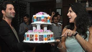 Sunny Leone Celebrates Birthday With Daniel Webber