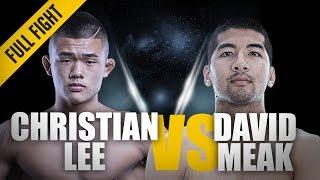 ONE: Full Fight   Christian Lee vs David Meak   Impressive Debut   December 2015