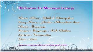 Andha Nilavathan Nan - Karaoke Track For Male Singers With Lyrics