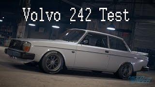 NFS Trying The Volvo 242 - نيد فور سبيد تجربة سيارة فولفو 242