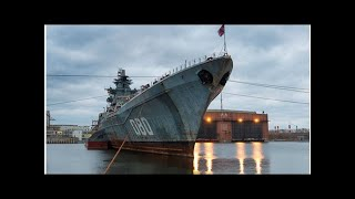 Most powerful Navy vessel now almost 20 years under reconstruction