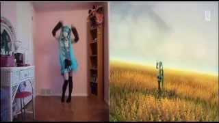 Comparacion Baile Vocaloid miku vida real Cosplay