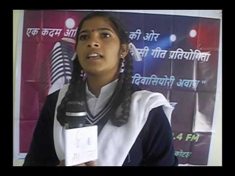 Babli Kumari  - MGAA- First Round Prkriti Section - 11-01-17 - Maar Geet Adivasiyori Awaz