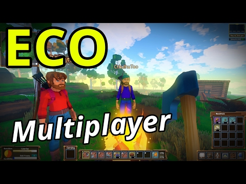 ECO Multiplayer   Ep. 1   Brave New World! (Eco GangZ Server)