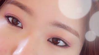 Romantic Semi Smokey Burgundy Makeup (Asian Eyes) 로맨틱 버건디 세미 스모키 메이크업 :)